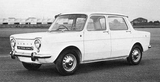 simca abarth 1150 berlina