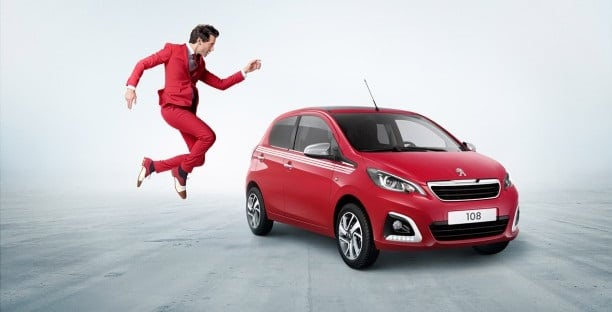 Peugeot 108 collection Mika
