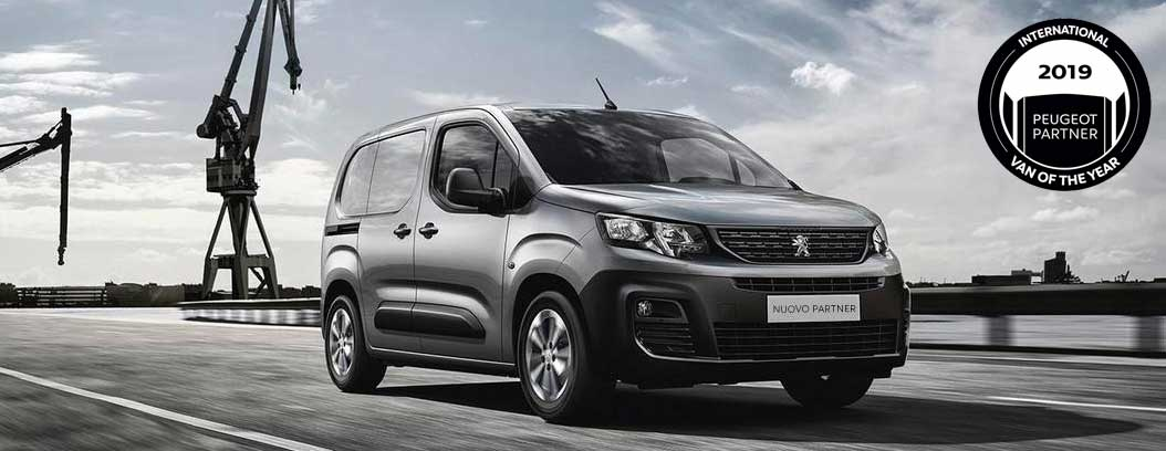 Nuovo Peugeot Partner, Van of the Year 2019