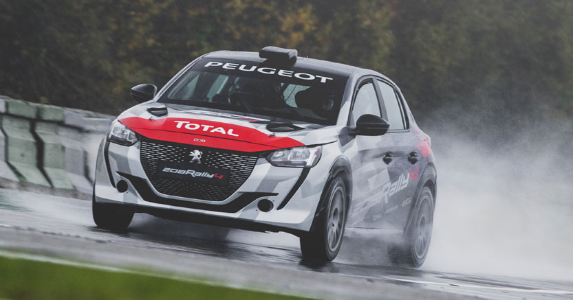 Nuova Peugeot 208 Rally debutto