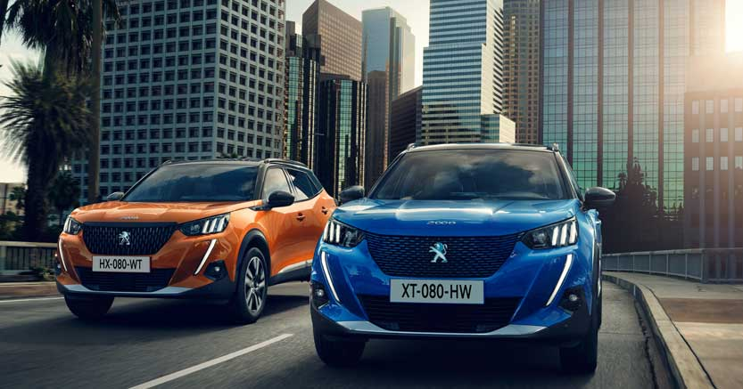 Nuova Peugeot 2008 restyling