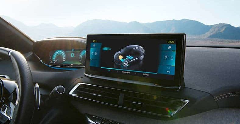 Nuovo Peugeot 3008 touch screen