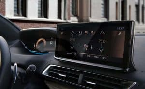 Nuovo Peugeot 3008 touch screen 10''