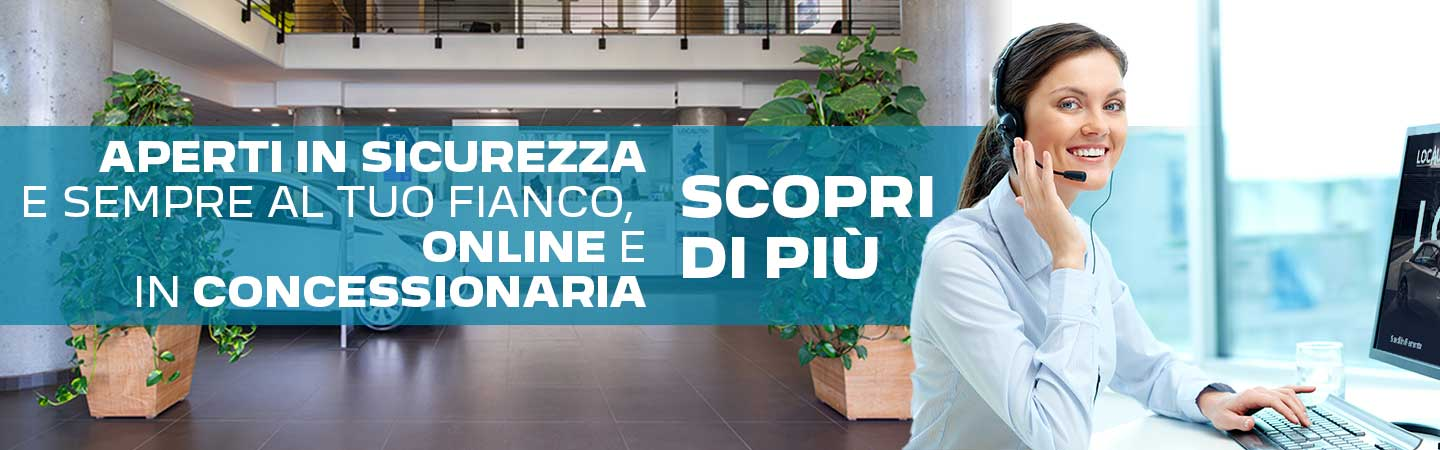 Concessionarie aperte in sicurezza