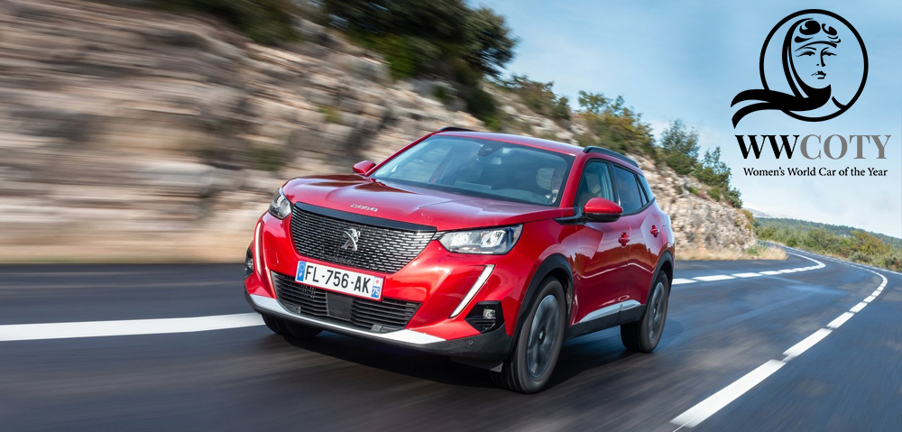 Peugeot SUV 2008 WOMEN'S WORLD CAR OF THE YEAR